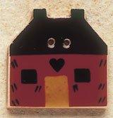 43034 Red Quilt House Debbie Mumm Button
