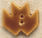 43049 Gold Maple Leaf Debbie Mumm Button