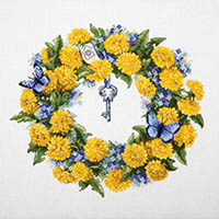 Dandelion Wreath Kit