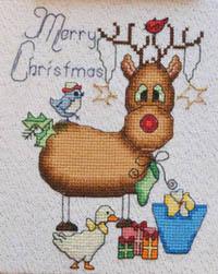 Rebecca The Reindeeer - Merry Christmas