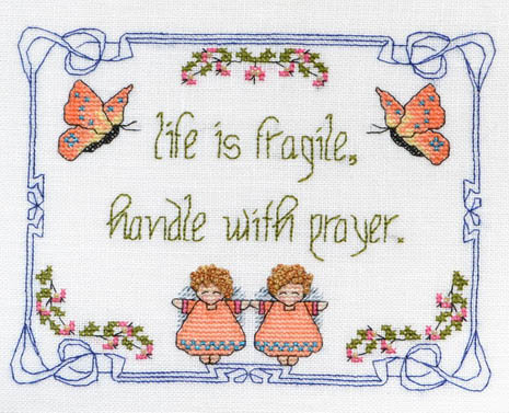 Life Is Fragile - Handle With Prayer