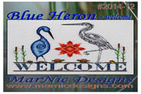 Blue Heron Welcome