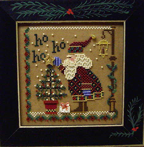 SHOP MODEL - HO HO HO SANTA BUTTON & BEAD KIT