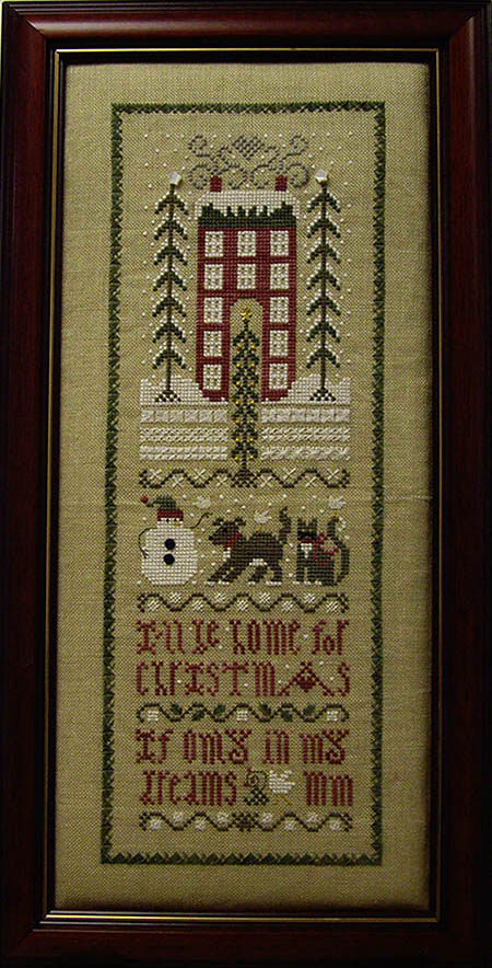 SHOP MODEL - CHRISTMAS DREAMS SAMPLER