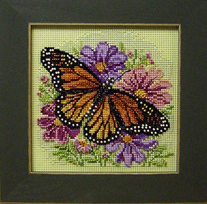 SHOP MODEL -  WINGED MONARCH BUTTON & BEAD KIT