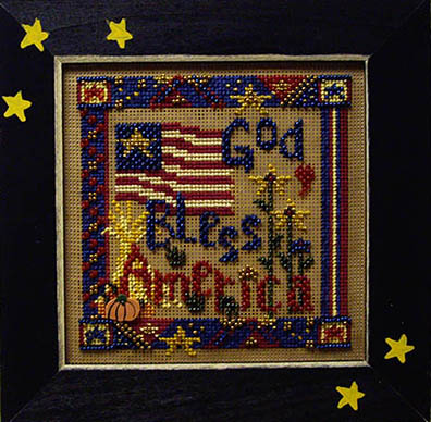 SHOP MODEL -  BLESS AMERICA BUTTON & BEAD KIT