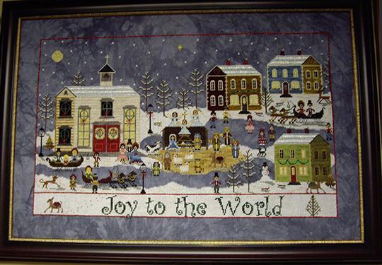 SHOP MODEL-A CHURCHYARD CHRISTMAS
