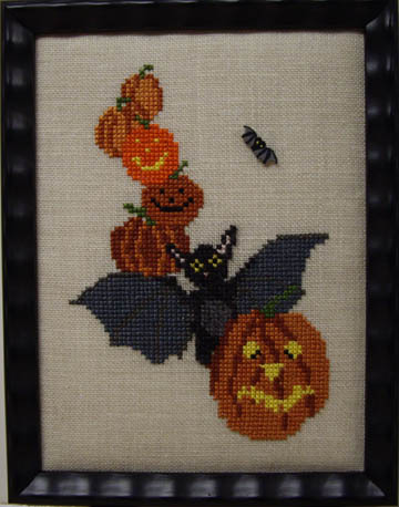 SHOP MODEL-ALL STACKED UP HALLOWEEN BAT