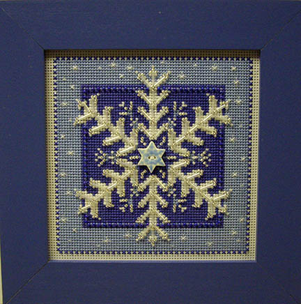 SHOP MODEL- CRYSTAL SNOWFLAKE KIT