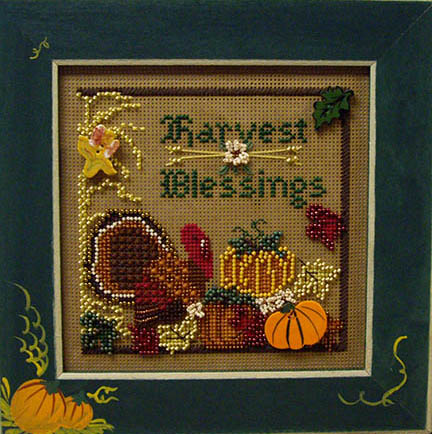 SHOP MODEL - HARVEST BLESSINGS BUTTON & BEAD KIT