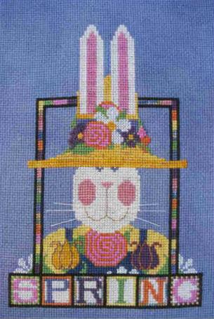 Spring Rabbit Banner