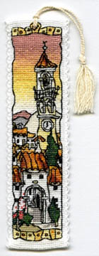 Spanish Hill Town Bookmark Kit