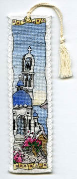 Greek Island Bookmark Kit