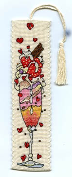 Strawberry Ice Bookmark Kit