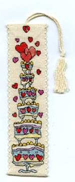 Celebrate Cake Bookmark Kit