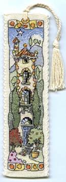 Tall Italian House Bookmark Kit