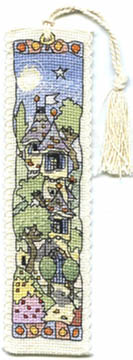 Tall Chateau House Bookmark Kit