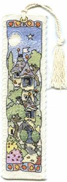 Tall Chateau House Bookmark Kit