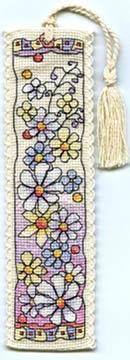 Flower Meadow Bookmark Kit