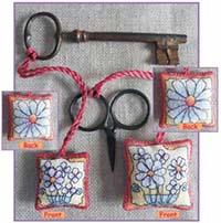 Daisies Scissor/Key Keep Kit