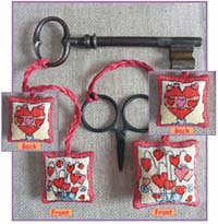 Hearts Scissor/Key Keep Kit