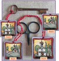Tuscan Church Scissor/Key Keep Kit