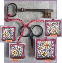 Flowers Scissor/Key Keep Kit