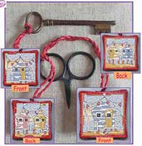 Beach Huts - Scissor/Key Keep Kit