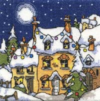 Mini Snowy Cottage Kit