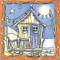 Mini Beach Hut in Moonlight Kit