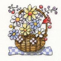 Mini Basket of Flowers Kit