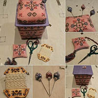 Little Spring Sewing Basket