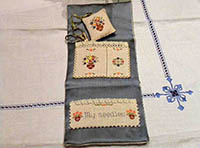 Spring In Tuscany Sewing Set