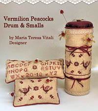Vermilion Peacocks Drum & Smalls