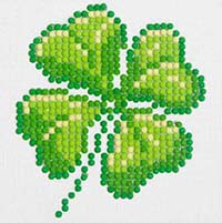 Four Leaf Clover -  Diamond Dotz Kit