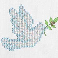 Dove of Peace -  Diamond Dotz Kit