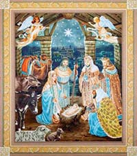 Nativity Scene -  Diamond Dotz Kit