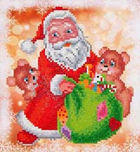 Santa & Teddies -  Diamond Dotz Kit
