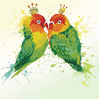 Love Birds Diamond Dotz Kit