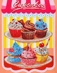 Cupcakes  -  Diamond Dotz Kit