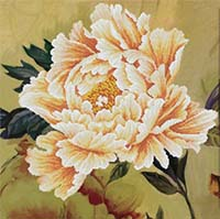 Blooming Peony 2 -  No Count X-Stitch Kit