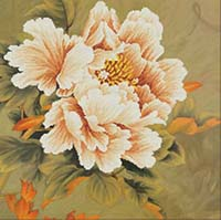 Blooming Peony 1 -  No Count X-Stitch Kit