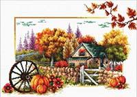Autumn Farm -  No Count X-Stitch Kit