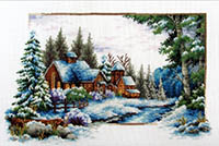 Winter Now -  No Count X-Stitch Kit