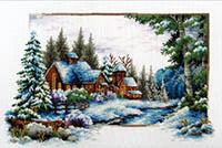 Winter Now -  No Count X-Stitch Kit
