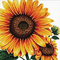 Sunflower -  No Count X-Stitch Kit