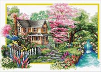 Spring Comes -  No Count X-Stitch Kit
