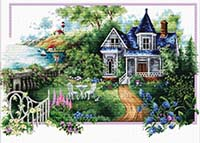 Summer Comes -  No Count X-Stitch Kit