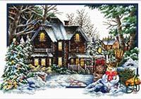 Winter Comes -  No Count X-Stitch Kit