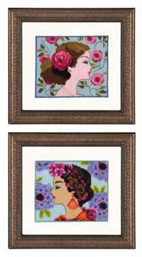 Bella Portraits - Bella Rose & Bella Hydrangea